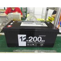 China Custom 12V 200Ah LiFePO4 Battery For Solar Storage With Built In BMS Handpack on sale