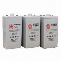 VRLA Batteries with 2V Voltage and 200 to 3,000mAh Nominal Capacity, Compliant with JIS Standards