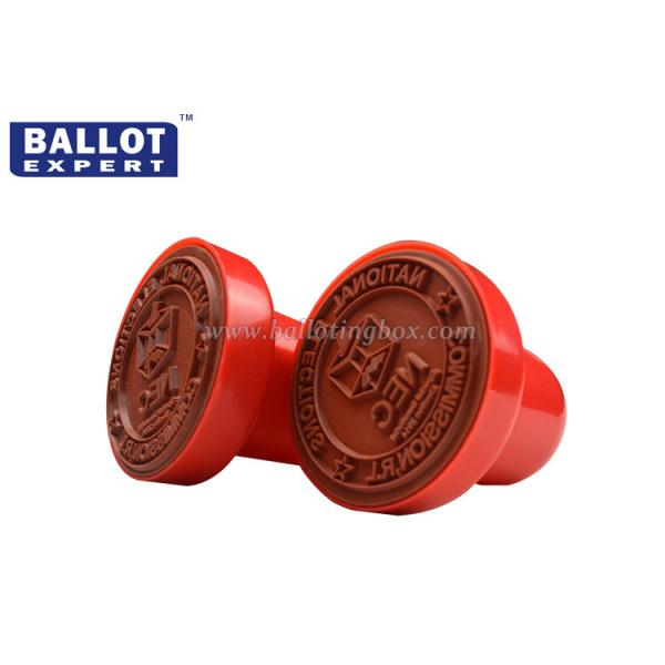 plastic automatic small custom rubber stamps with pe foam pad