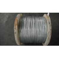 China 4.77mm Galvanized Steel Core Wire packed on drum as per ASTM B 498 Class A on sale