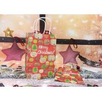China Fashion Professional Colored Paper Gift Bags With Handles  Lovely Christmas Features on sale