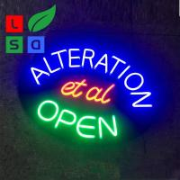 China LED Neon Open Sign Durable Fast Delivery DIY Bar Open Neon Sign on sale