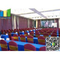"2 9/16"" Operable Partitions, Folding Partition Office Partition Walls For Meeting Room"