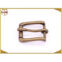 Buy cheap Antique Brass Rolling Custom Metal Bag Buckle , Handbag Making Accessories from Wholesalers