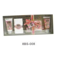 Buy cheap Spring Theme Bubble Bath Gift Set , 150g Crystal Batch Salt Towel #8BS-008 from Wholesalers