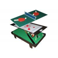China Multi Function Table Tennis Game Table Flannel Brown Color For Children on sale