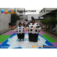 Cary Funny Inflatable Sports Games Sumo Wrestling Suits With Sponge Mat