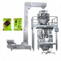 Photato chips VFFS multihead weigher packing machine,Biscuit packing VFFS for sale