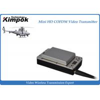 Buy cheap Lightweight HD UAV Video Transmitter 20km Wireless COFDM UAV Link with Battery from Wholesalers