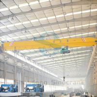 5 Ton 10 Ton 15 ton Single Girder Overhead Crane , China Made Bridge Crane for Sale