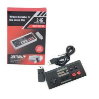 Buy cheap 2.4G Wireless Turbo NES Classic Game Controller With 400mA Lithium Battery from wholesalers