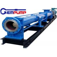 Buy cheap I-1B series thick slurry pump /	Single Screw Pump / food industry pump / metallurgy industry pump / chemical pump from Wholesalers