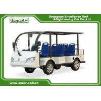 Buy cheap 8-Seater 72V 7.5KW MOTER  Electric sightseeing car from wholesalers