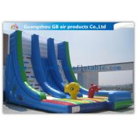 China OEM Island Theme Inflatable Water Slides For Teenagers In Graden / Park / Backyard on sale