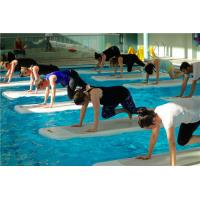 China Professional Water Gym Mat , Water Fitness Mat Fire Retardant Material on sale
