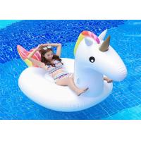 95'Rainbow Unicorn Inflatable Pool Floats unicorn water Float Fashion Water Float for one person