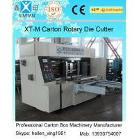 Buy cheap Corrugated Colorful Carton Rotary Die-Cutting Machine For Die Cutting And Molding from wholesalers