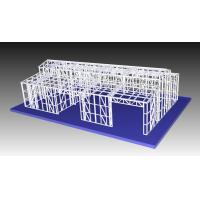 China Structural Steel Light Frame Metal Garden Shed / Metal Car Sheds on sale
