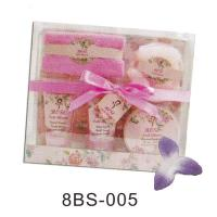 Buy cheap Beautiful Bubble Bath Gift Set With 90ml Scrub Jerry , Towel #8BS-005 from Wholesalers