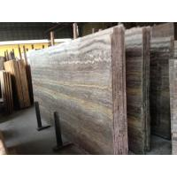 Buy cheap Cheap Import Silver Dark Grey Vein Cut Travertine Marble In China Marble Window Sills from wholesalers