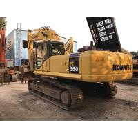 Original japan Used Komatsu PC360-7 Crawler Excavator for sale for sale