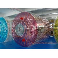 Buy cheap Commercial Polyether TPU Jumbo Inflatable Water Roller Inflatable water ball with CE from wholesalers
