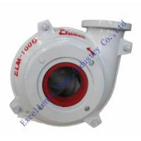 ELM-100D high chrome alloy lined mining slurry pumps design for building material