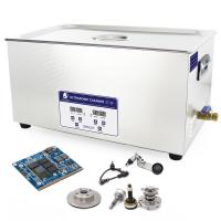 Buy cheap Capacity 2l - 30l 40khz Ultrasonic Cleaning Equipment Digital Timer And Heater With CE from wholesalers