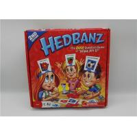 Buy cheap Eco Friendly Fun Playing Card Games For Kids Educational HedBanz from Wholesalers