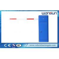 Buy cheap 2mm Cold Rolled Steel Plate Car Park Barrier With White Rubber from Wholesalers