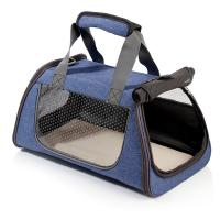 Buy cheap Navy Blue Color Puppy Carry Bag , Dog Travel Bag Washable Large Capacity from Wholesalers