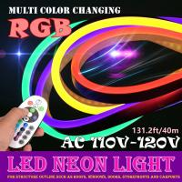 Buy cheap Super Bright RGB LED Neon Flex AC 110 - 120V Input Voltage 50M / Roll from Wholesalers