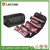 Buy cheap Travel Cosmetic  Makeup Bag Hanging Rolling Toiletry Organizer Black from Wholesalers