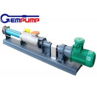 Buy cheap G type single screw pump/with speed motor pump / food use pump / metallurgy pump / paper & printing pump / dyeing pump from Wholesalers