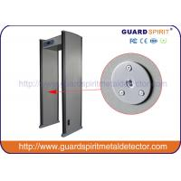 Door Guard Spirit Portable Walk Through Metal Detector Scanner Lcd Display Screening