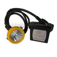 Buy cheap ATEX approved KL5LM ( C ) led cord miners cap lamp , Rechargeable Battery from Wholesalers