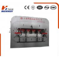 China High Effciency Automatic Laminate Hot Press Machine Short Cycle For Laminated Flooring on sale