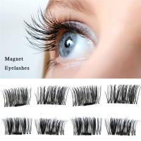 Buy cheap Handmade Reusable Long False Eyelashes For Small Eyes Color Customized from Wholesalers