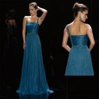Buy cheap One-Shoulder Christmas Evening Dress (LP074) from Wholesalers