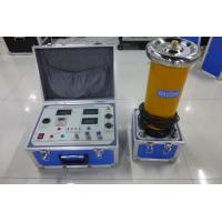 Buy cheap High Accuracy Strong Safety Dc Hipot Tester For Measure Hv Cables / Surge Arresters from Wholesalers