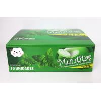 Buy cheap 8g Strong Mint Flavor Compressed Candy  packed in Plastic Round Box from Wholesalers