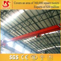 Buy cheap Electric driven ld type Customizable single girder overhead crane from Wholesalers
