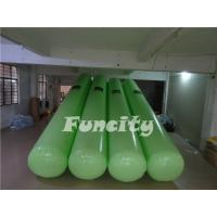 Buy cheap 7M Length 0.5m diameter Green Color  Airtight  Floating Water Buoys for Aqua park  Enclosure from Wholesalers
