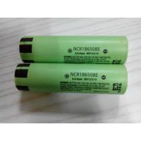 Buy cheap battery operated led lighting  NCR18650BE  3200 mAh 3.6V for panasonic 18650 batter from wholesalers
