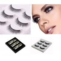 Buy cheap Individual Eye Makeup Eyelashes Black Color Grade A Materials For Girls from Wholesalers