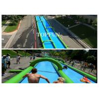 Buy cheap 300M Huge Inflatable Water Slide from Wholesalers