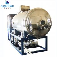China High Safety Vacuum Freeze Drying Machine , Freeze Dried Fruit Machine on sale