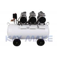 China 7 Bar Electric Oil Free Air Compressor , Portable Medical Air Compressor on sale