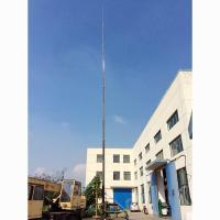 Buy cheap 32m Height 20kg payloads antenna pneumatic telescopic mast model 90A13320 from Wholesalers