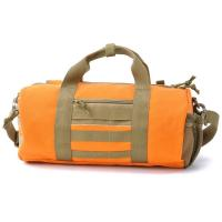 Buy cheap Large Men Travel Duffel Bags Orange Duffel Bags With An Inner Pouch from Wholesalers